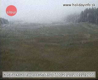 Kubínska Hoľa Live Webcam