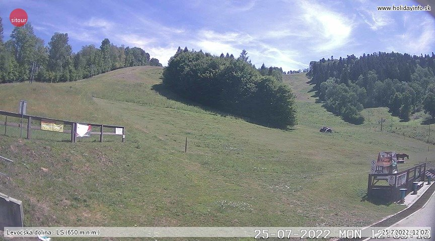 Webcam - Webkamera Ski Centre Levoča