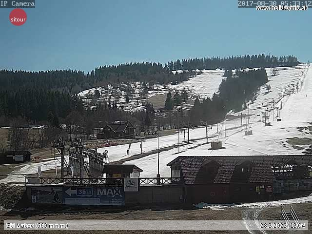 Ski Makov live Webcam