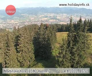 Martinské Hole Live Webcam