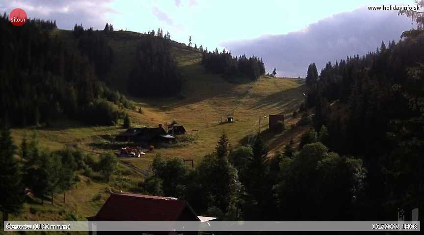 Certovica live Webcam