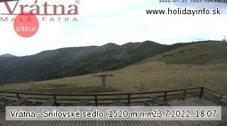 webcam snilovske sedlo