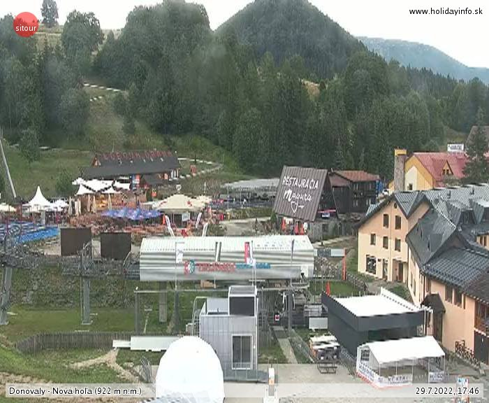 Webcams Skigebied Donovaly