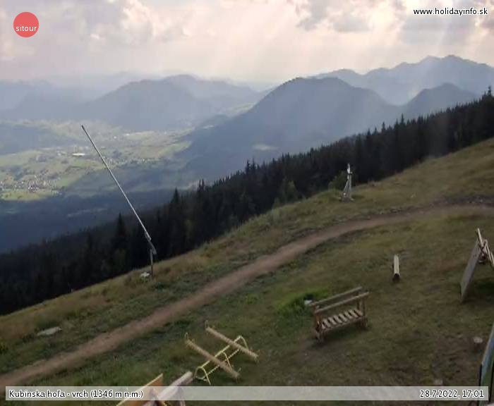 Webcam Ski Resort Kubinska Hola cam 2 - Lesser Fatra