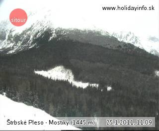 webkamera - Vysoké Tatry - Štrbské Pleso