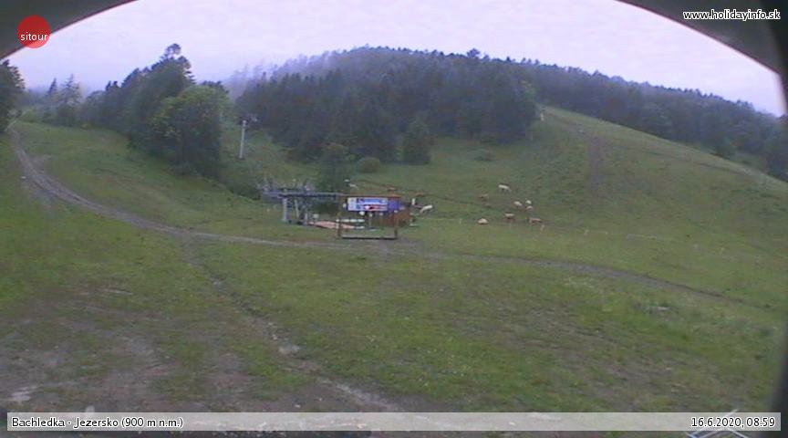 Bachledova dolina, Jezersko 880 m.n.m.