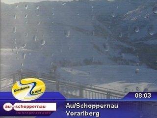 webkamera - Au/Schoppernau - Diedamskopf