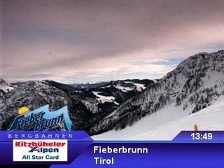 webkamera - Fieberbrunn - Bergstation II