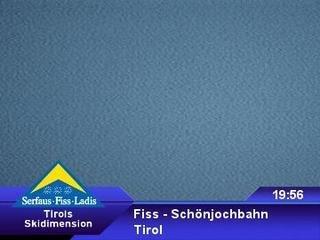 webkamera - Fiss - Bergstation Schönjochbahn
