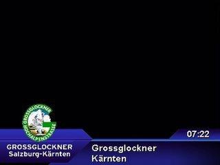 webkamera - Grossglockner - Schöneck / Großglocknerstrasse