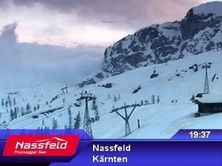 webkamera - Nassfeld - Tressdorfer Höhe