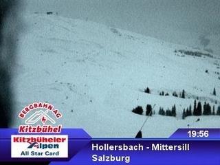 webkamera - Hollersbach - Mittersill - Bergstation Panoramabahn - Resterhöhe
