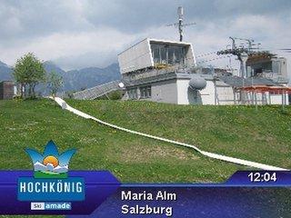 webkamera - Maria Alm - Aberg - Mittelstation