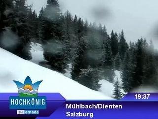 webkamera - Mühlbach am Hochkönig - Bergstation Gondelbahn