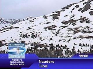 webkamera - Nauders - Bergstation Gondelbahn