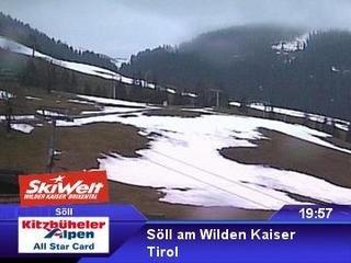 webkamera - Söll - Bergstation Gondelbahn