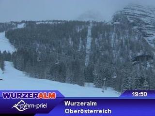 webkamera - Wurzeralm - Standseilbahn Bergstation