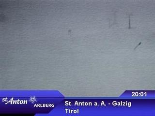 webkamera - St. Anton a. A. - Galzig Bergstation
