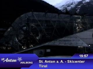 webkamera - St. Anton a. A. - Skicenter