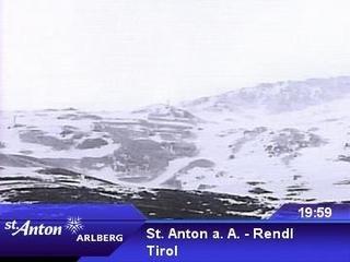 webkamera - St. Anton a. A. - Rendl