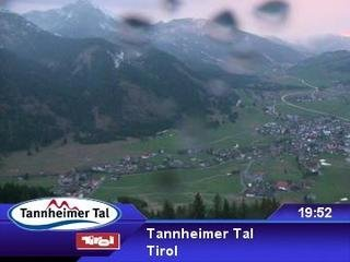 webkamera - Tannheimer Tal - Neunerköpfle Mittelstation