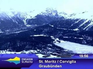 webkamera - St. Moritz - Corviglia