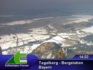 webkamera - Tegelberg - Bergstation