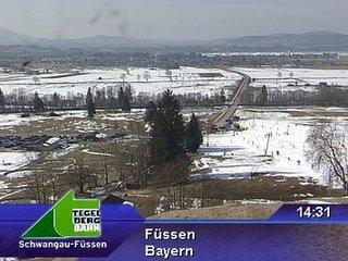 webkamera - Füssen - Talstation