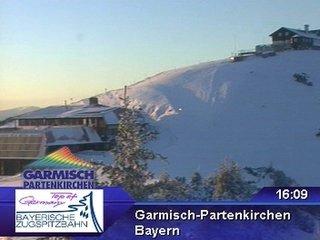 webkamera - Garmisch - Partenkirchen - Wankbahn Bergstation