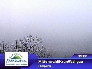 webkamera - Mittenwald / Krün / Wallgau - Hoher Kranzberg