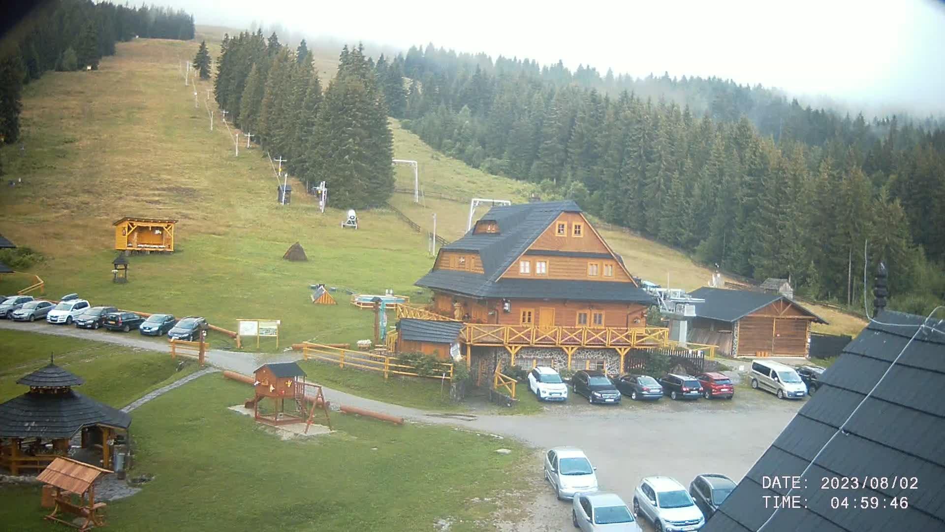 Webkamera - Ski Zábava Hruštín