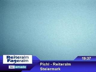 webkamera - Pichl - Reiteralm - Bergstation 6er-Sesselbahn