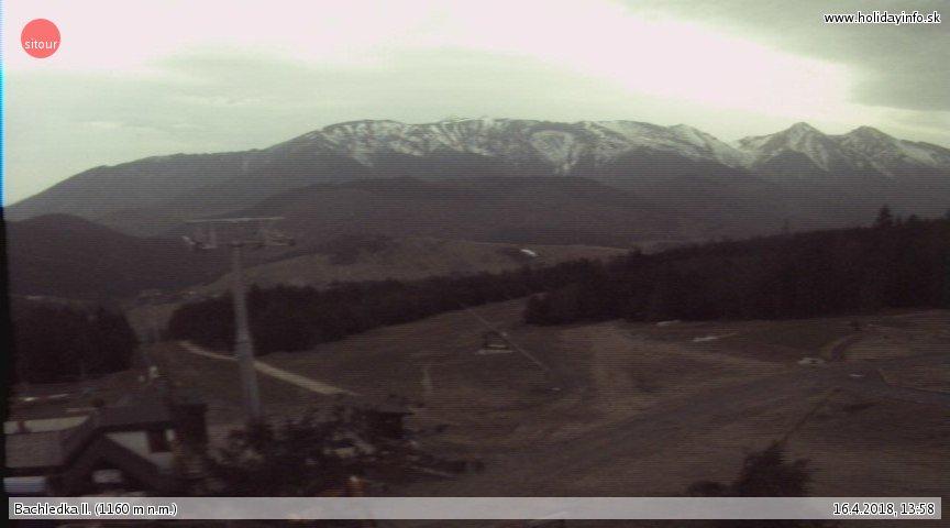 Webcam Skigebiet Bachledova Dolina cam 2 - Hohe Tatra