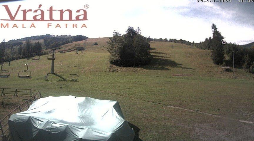 Webcam - Vrátna - Paseky