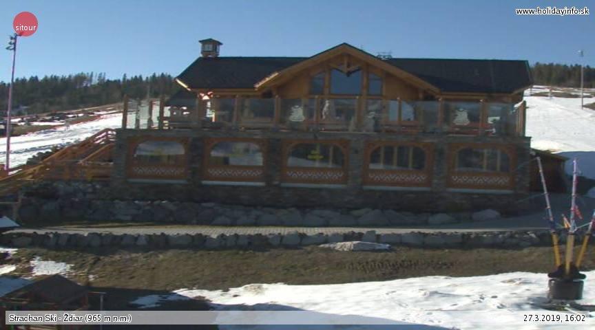 Webcam Skigebiet Zdiar cam 2 - Hohe Tatra