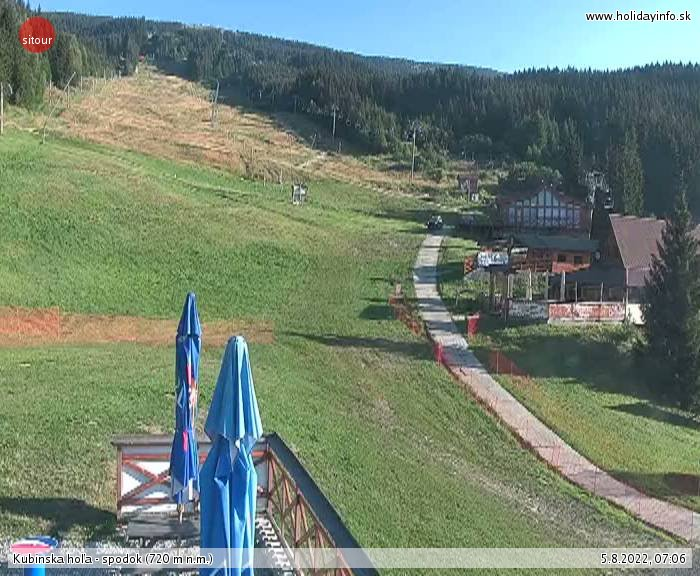 Webcam Ski Resort Kubinska Hola cam 3 - Lesser Fatra