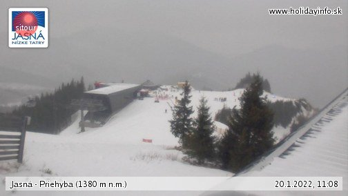Priehyba Live Webcam