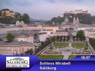 webkamera - Salzburg - Schloss Mirabell