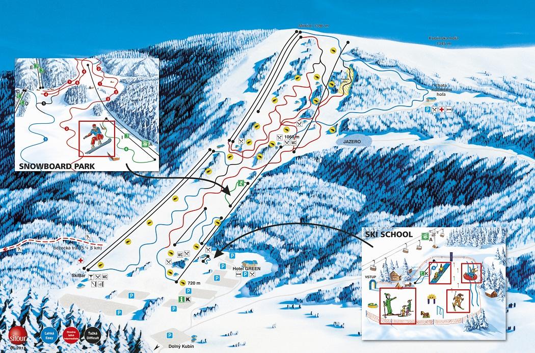 lyziarska trasa - Ski Kubinska Hola