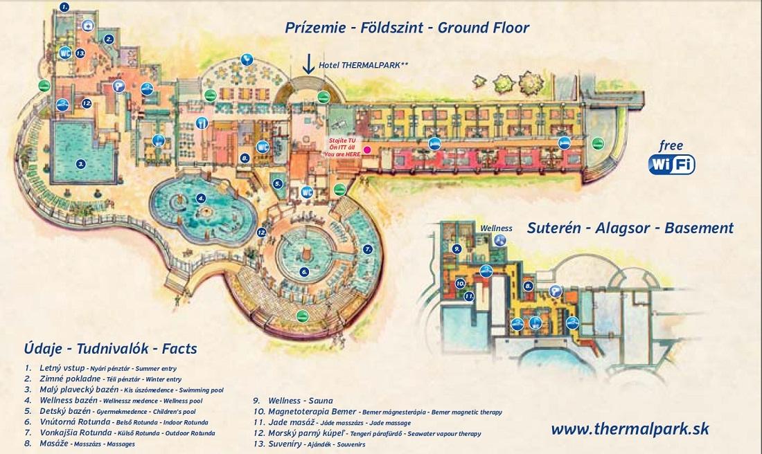 Mapa - Hlavná budova
