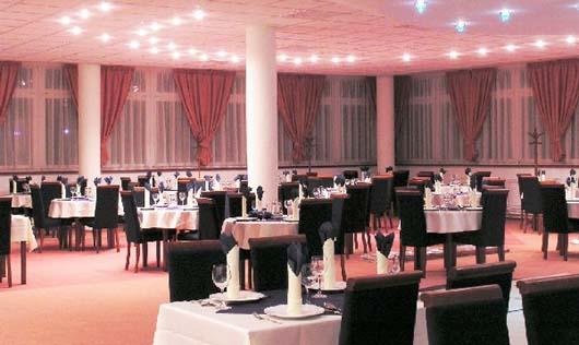 Reštauracia v hoteli Plejsy***