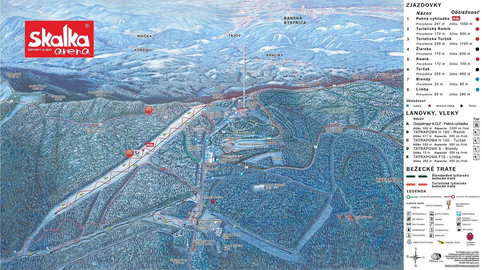 Mapa - Mapa Skalka-LD
